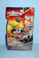 Power Rangers Megaforce ULTRA RED RANGER DRAGON CYCLE NEW ZORD BUILDER