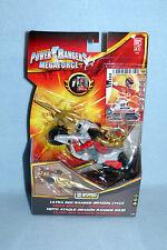 Power Rangers Megaforce Ultra Red Ranger Dragon cycle NOUVEAU ZORD BUILDER