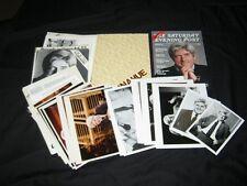 Original 1980 PHIL DONAHUE SHOW Presskit 16-Photos 23 Supplements