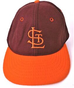 St Louis Cardinals Fitted Baseball Cap - Size 71/4 - Brown - NEW Without Tag