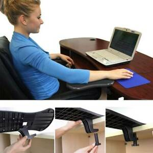 COMPUTER ELBOW ARM REST SUPPORT CHAIR DESK ARMREST HOME OFFICE WRIST MOUSE PAD