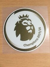 Premier League Champions Patch/Badge GOLD Liverpool FC