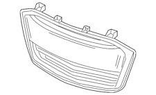 Genuine GM Lower Grille 42496925