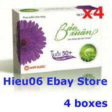 Lot of 4 boxes Bao Xuan Complete Balance Menopause, Cân bằng nội tiết tố nữ U50+