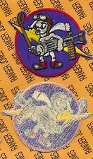 "USAF Air Force 487th Fighter Squadron 4"" inch LITTLE BASTARDS flight patch c/e"