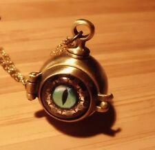 Medaillon nugoth Dragoneye steampunk restyle banned night Gothic Dragon pagan