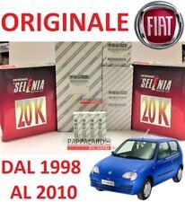 KIT TAGLIANDO FILTRI  + OLIO SELENIA + CANDELE FIAT SEICENTO 600 1.1 40KW 54CV