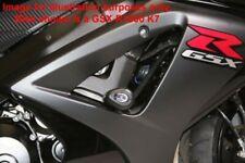 Suzuki GSX R1000 K5 2005 R&G Racing Aero Crash Protectors CP0216BL Black