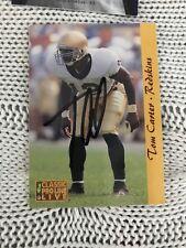 Tom Carter Signed Trading Card Autographed Notre Dame Irish Legend