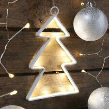 LED Lichterkette Weihnachtsbeleuchtung Filz Weihnachts Tannen Baum Fensterdeko