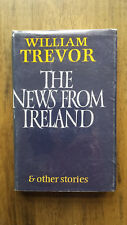 William Trevor – The News From Ireland (1st Proof UK 1985) SIGNED Booker Prize