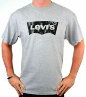Levi's Men's Premium Classic Graphic Cotton T-Shirt Shirt Tee Gray