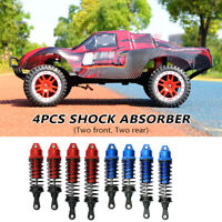 4pcs Front Rear Shock Absorber for Traxxas Slash Stampede Rustler 4x4 VXL Rally
