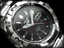 SEIKO MENS 5 SPORTS JAPAN AUTOMATIC WATCH SNZJ05 SNZJ05J1 Warranty, Box