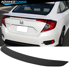 Fits 16-18 Honda Civic Sedan X 10th GEN JDM RS Style ABS Trunk Spoiler Wing