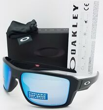 NEW Oakley Double Edge sunglasses Black Prizm Deep H2O Polarized 9380-13 GENUINE
