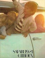 Citroen DS Safari 19 & 21 1967-68 UK Market Sales Brochure