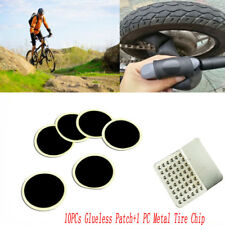 Cycling Bike Repair Fix Kit Flat Rubber Tire Tyre Tube Patch Glueless Patch Hot