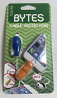 Tzumi Cord Bytes Cable Protector Universal (Blue Whale & Hippo) Brand New/Sealed