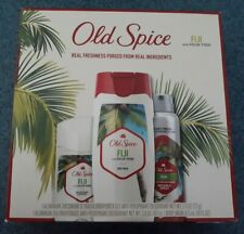 Old Spice Fiji 3pc Gift Set - Body Wash, Anti-Prespirant/Deodorant Solid & Spray