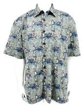 New Kahala Avi Kiriaty Shirt Mens 2XL Fish Print Hawaiian Short Sleeve
