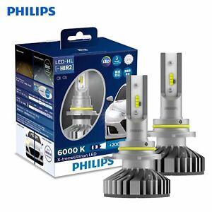 PHILIPS LED HIR2 9012 +200% X-treme Ultinon 6000K HI/Lo Beam Headlight Kit