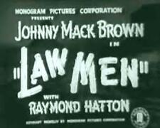 LAW MEN, 1944, JOHNNY MACK BROWN Monogram Pictures B-western: DVD-R Region 2