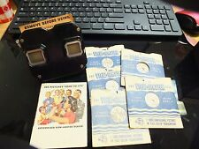 Vintage Sawyers View Master & 5 View Master Reels - With Original Box & Papers