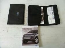 FORD RANGER OWNERS HANDBOOK PX, 06/11- 11 12 13 14 15 16 17