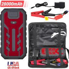 28000mah Car Jump Starter Box Battery Charger Pack Booster Portable Power Bank
