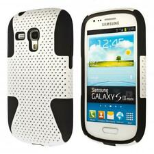Samsung Galaxy S3 mini i8190 i8200 Hybrid Outdoor Phone Case Anti Shock Cover Si