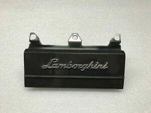 LAMBORGHINI MURCIELAGO LP640 CARBON FIBER AC COVER PANEL ASSEMBLY OEM 410864123A