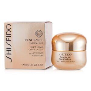 Shiseido Benefiance NutriPerfect Night Cream 50ml Womens Skin Care