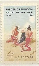 US 1187 Frederic Remington 4c single MNH 1961