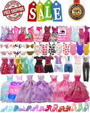 89Pcs Barbie Doll Clothes Accessories bikini party Outfits shoes Girl Gift Set