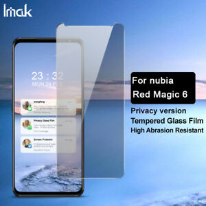 For Nubia Red Magic 6 /6 Pro IMAK Anti-Peeping Tempered Glass Screen Protector