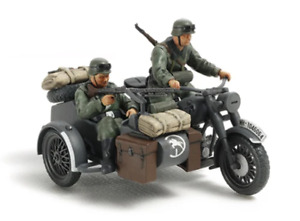 Tamiya 32578 1/48 German Motorcycle and Sidecar Plastic Model Kit Brand New
