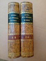 1860 Historia de la Monarquía En Europa Desde su Origen por Francis Lacombe+++++