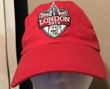 Olympics London NBC 2012 Baseball Hat / Cap One Size / Red