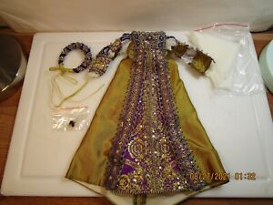Historical Beaded gown for 16 inch dolls NEW Tonner etc