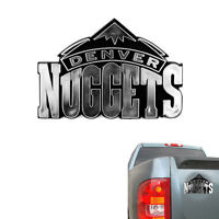 New NBA Denver Nuggets Chrome Plastic 3D Car Truck Emblem Sticker Decal