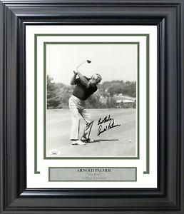 """Arnold Palmer Autographed Signed Framed 8x10 Photo """"Best Wishes"""" JSA #JJ85070"""