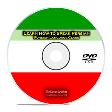 Learn How To Speak Persian, Fast & Easy Foreign Language Training Course DVD G84