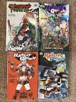New Harley Quinn Ivy Graphic Novel Lot Comics Vol 1 2 3 Batman TPB HC Hardcover