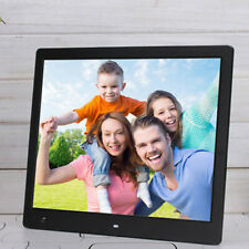 """10"""" Digital Photo Frame LED Electronic Album Picture Player Clock Remote Control"""