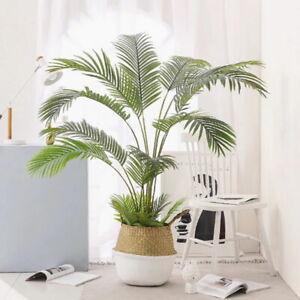 Künstliche Palme Kunststoffpflanzen Palmenbusch Zimmerpflanze Palmblatt 30-68cm