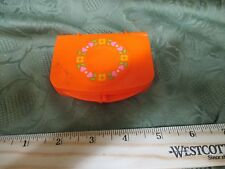 Vintage 1982 Fisher Price My Little PURSE COMPACT Pretend Play Dress Up Part