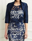 Lace Wedding Mum Dress Knee Length Mother Of The Bride Suit Outfit Jacket 2-26W