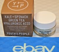 Youth to the People Kale+Spinach Green Tea Hyaluronic Cm 0.5 oz 2 jar Box w/dent
