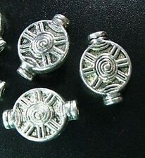 20pcs Tibetan Silver Crafted Pot Spacer Beads R726